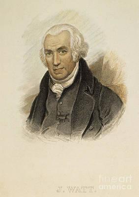 James Watt (1736-1819) Art Print by Granger