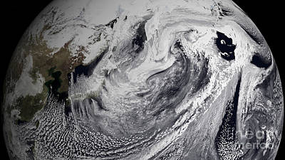 January 2, 2009 - Cloud Simulation Art Print by Stocktrek Images