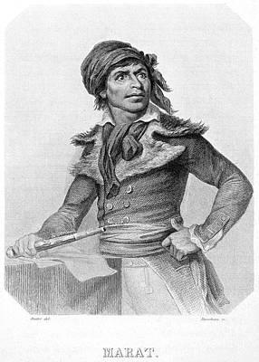 Jean-paul Marat (1743-1793) Art Print by Granger