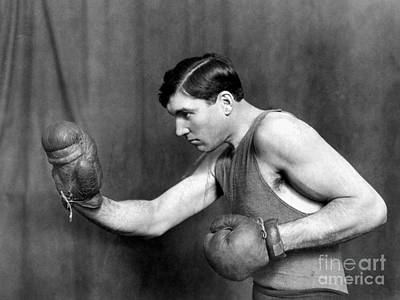 Jess Willard (1883-1968) Art Print by Granger