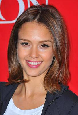 At A Public Appearance Photograph - Jessica Alba At A Public Appearance by Everett