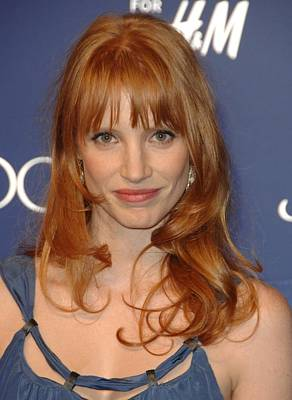 Jessica Chastain At Arrivals For Jimmy Art Print