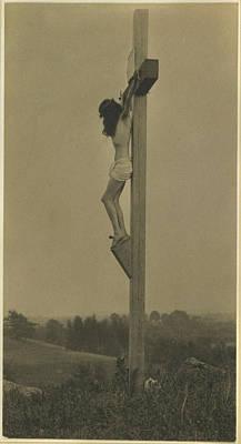 Platinum Photograph - Jesus Christ, The Crucifixion by Everett