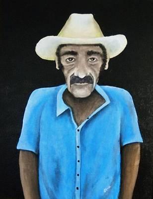 Jibaros Painting - Jibaro by Edwin Alverio