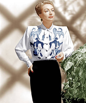 Incol Photograph - Joan Crawford, Ca. 1940s by Everett