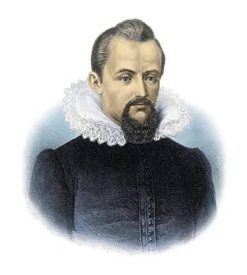 Johannes Kepler, German Astronomer Art Print by Detlev Van Ravenswaay