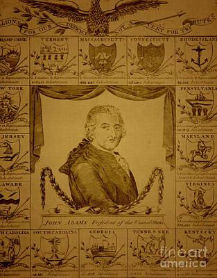 John Adams, 2nd American President Art Print