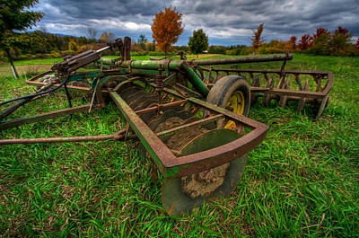 Shelburne Falls Photograph - John Deere by Mike Horvath