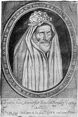 John Donne (1573-1631) Art Print by Granger