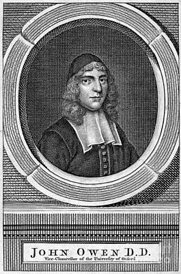 Skullcap Photograph - John Owen (1616-1683) by Granger