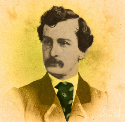 John Wilkes Booth, American Assassin Art Print by Photo Researchers