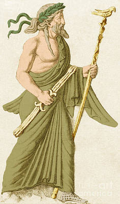 Zeus Photograph - Jupiter, Roman God by Photo Researchers