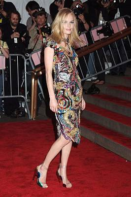 Kate Bosworth Wearing A Vintage Chanel Print by Everett