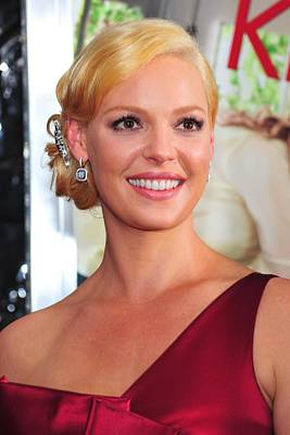 Katherine Heigl At Arrivals For Life As Art Print by Everett
