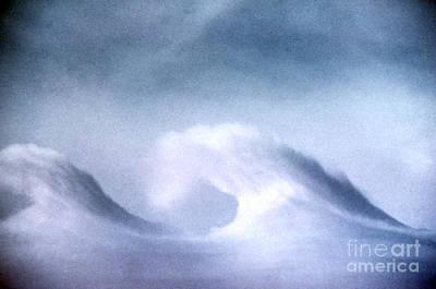 Kelvin-helmholtz Wave Clouds Art Print by Science Source