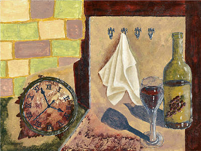 Painting - Kitchen Collage by Susan Schmitz