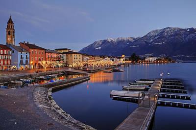 Lake Maggiore - Ascona Art Print by Joana Kruse