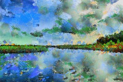 Lake View Art Print by Yury Malkov