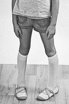 Wooden Floors Photograph - Legs Of A Girl by Joana Kruse