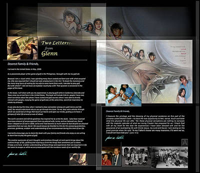 Digital Art - 2 Letters From Glenn A by Glenn Bautista