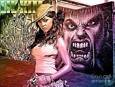 Drizzy Wall Art - Digital Art - Lil Kim by The DigArtisT