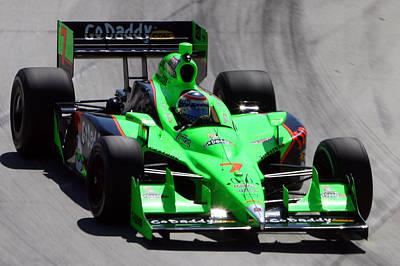 Indy Car Photograph - Long Beach by Steve Parr