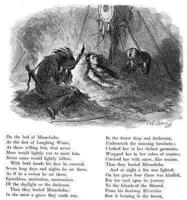Longfellow: Hiawatha Art Print by Granger