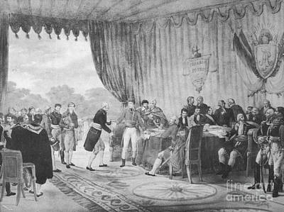 Louisiana Purchase, 1803 Print by Photo Researchers