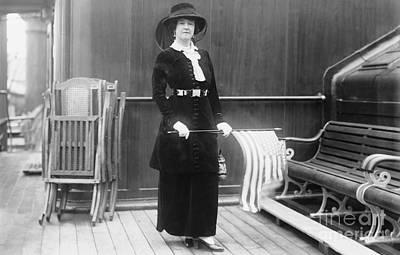 Photograph - Lucy Duff-gordon (1863-1935) by Granger