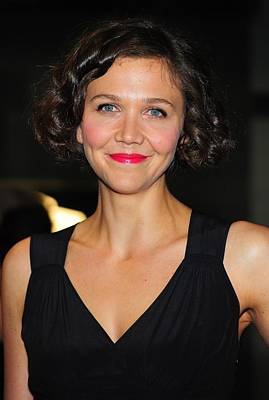 Maggie Gyllenhaal At Arrivals For The Print by Everett