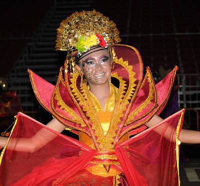Photograph - Malay Dancer by Chua  ChinLeng