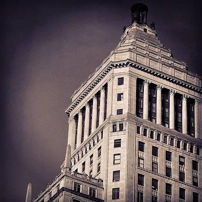 Skylines Photograph - Manhattan - New York by Joel Lopez