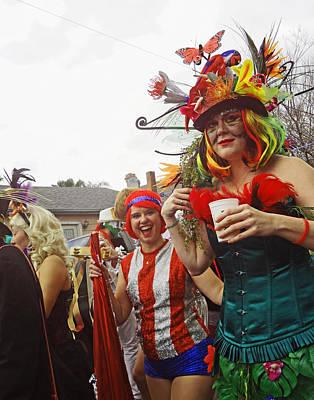 Mardi Gras Day In New Orleans Art Print