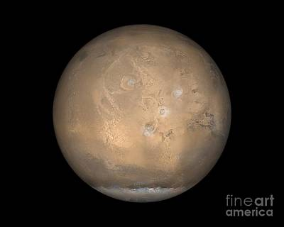 Tharsis Photograph - Mars by NASA / Science Source