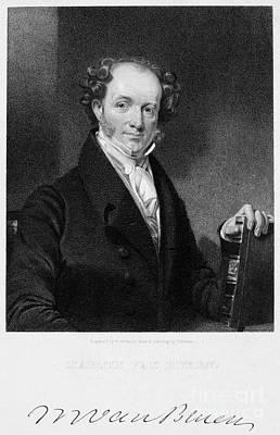 Martin Van Buren (1782-1862) Art Print by Granger