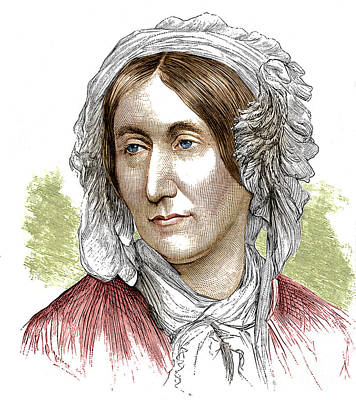 Mary Somerville, Scottish Polymath Art Print by Science Source