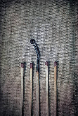 Matches Art Print by Joana Kruse