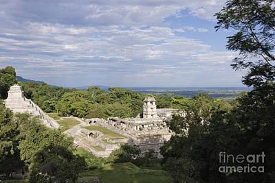 Maya Civilization Photograph - Mayan Ruins by Jeremy Woodhouse