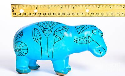Measuring Length Art Print by Photo Researchers, Inc.
