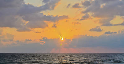 Photograph - Mediterranean Sunset by Michael Goyberg