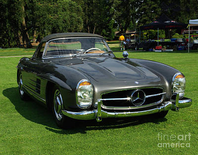Photograph - Mercedes 300 Sl by Peter Piatt