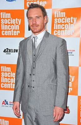Alice Tully Hall At Lincoln Center Photograph - Michael Fassbender At Arrivals by Everett