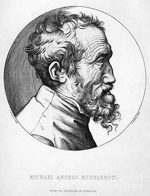 Michelangelo (1475-1564) Art Print by Granger