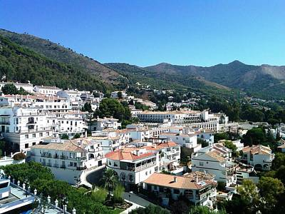 Photograph - Mijas Moutain View Architecture Spain by John Shiron