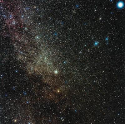 Milky Way In Cygnus Art Print by Eckhard Slawik