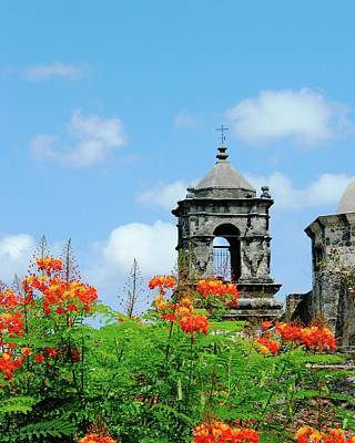 Digital Art - Mission San Jose San Antonio by Lizi Beard-Ward