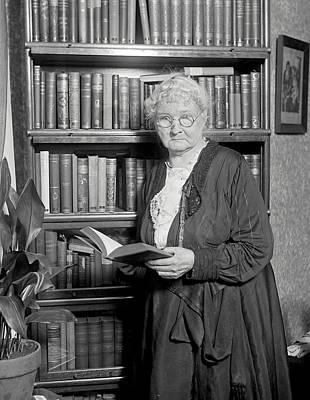 Mother Jones. Mary Harris Jones, Photo Art Print by Everett