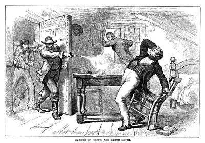 Murder Of Smith, 1844 Art Print by Granger