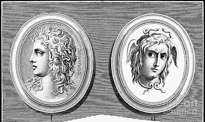 Mythology: Medusa Art Print by Granger