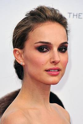 Natalie Portman At Arrivals Art Print